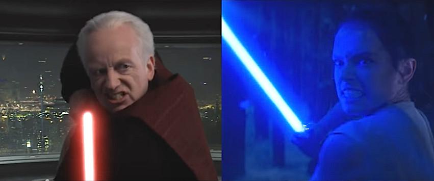 Star Wars, the last jedi, snoke, palpatine, rey