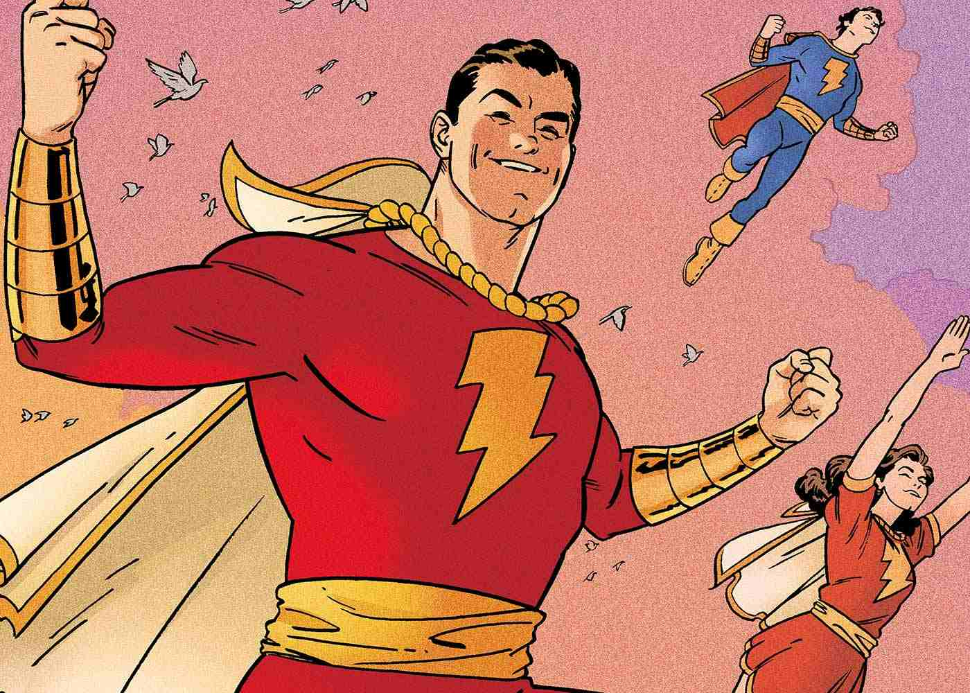 Shazam!: Zachary Levi Shares First Official Look at Captain Marvel