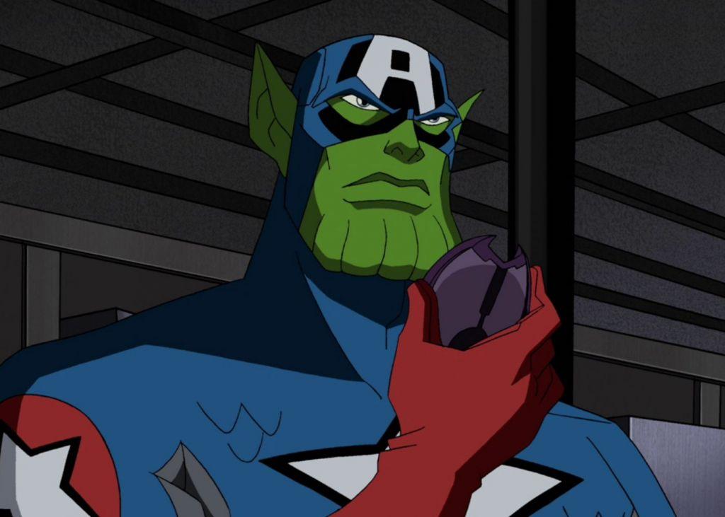 skrull, captain america, marvel