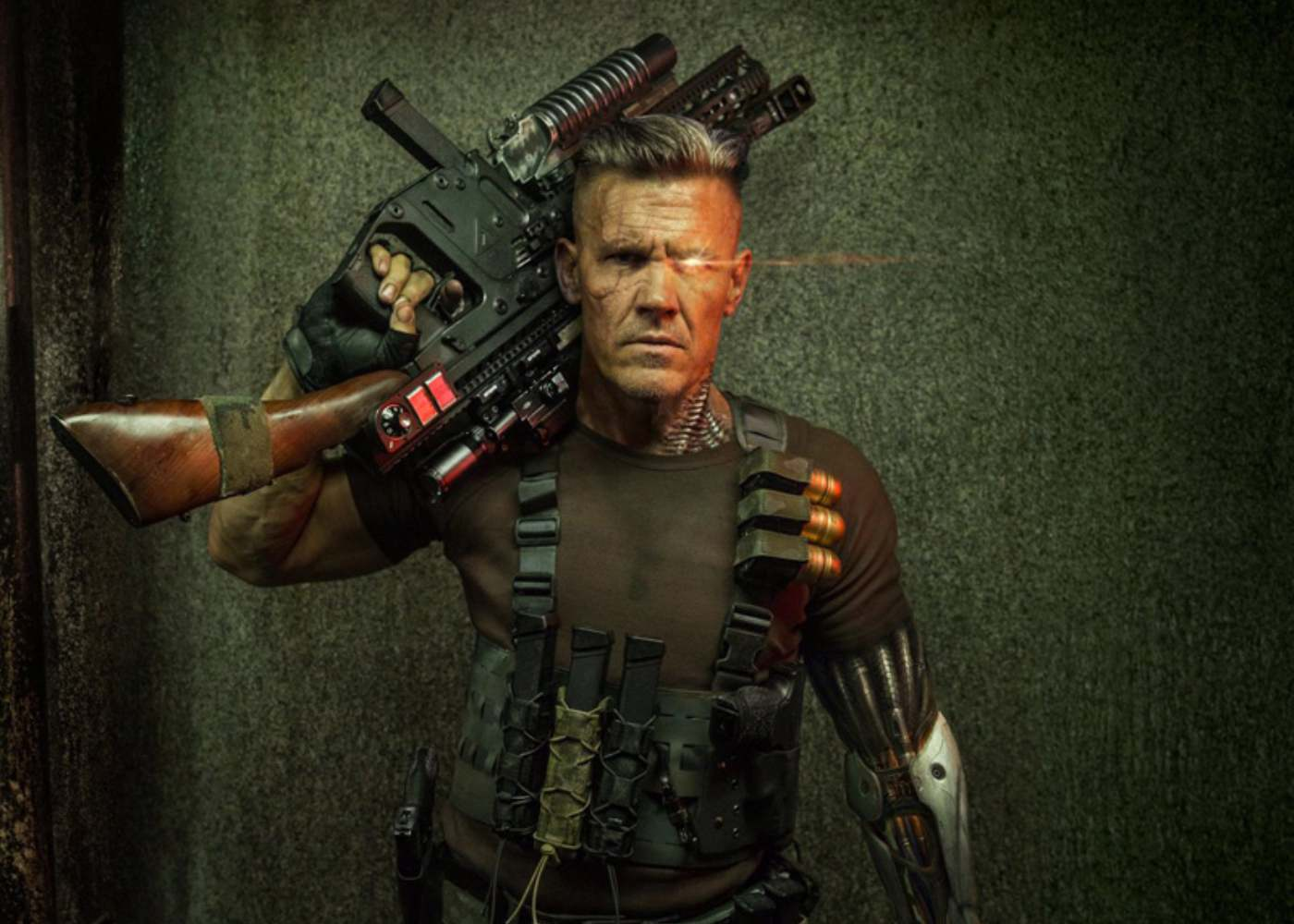 Your First Look at Josh Brolin's Cable in Deadpool 2