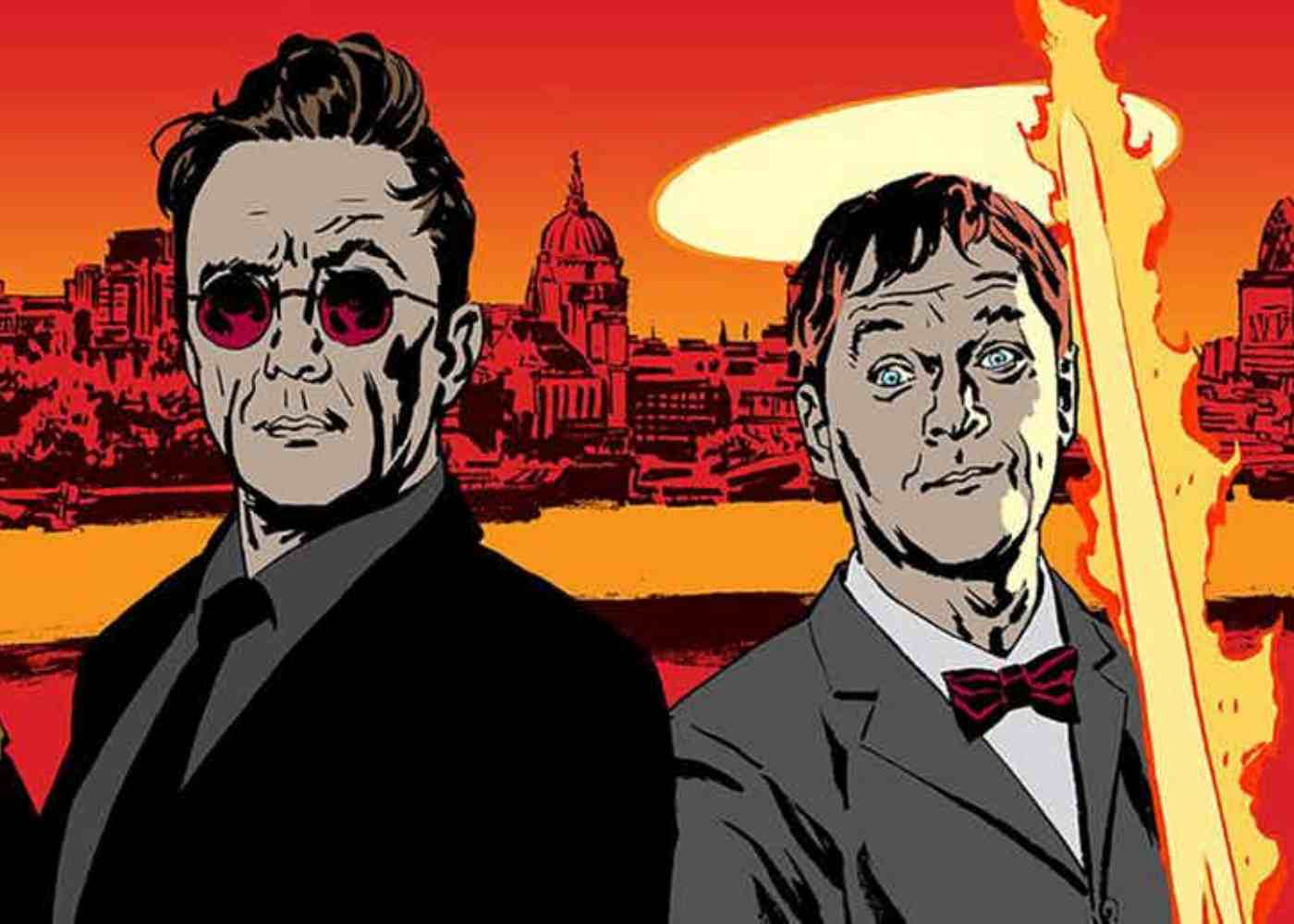 Neil Gaiman's Good Omens Casts David Tennant and Michael Sheen