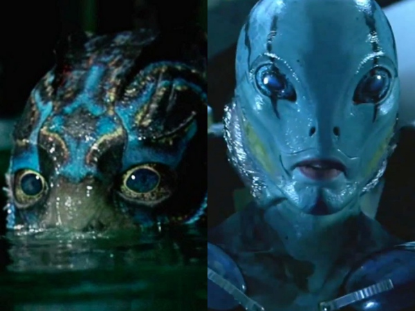 shape of water, guillermo del toro, hellboy, abe sapien