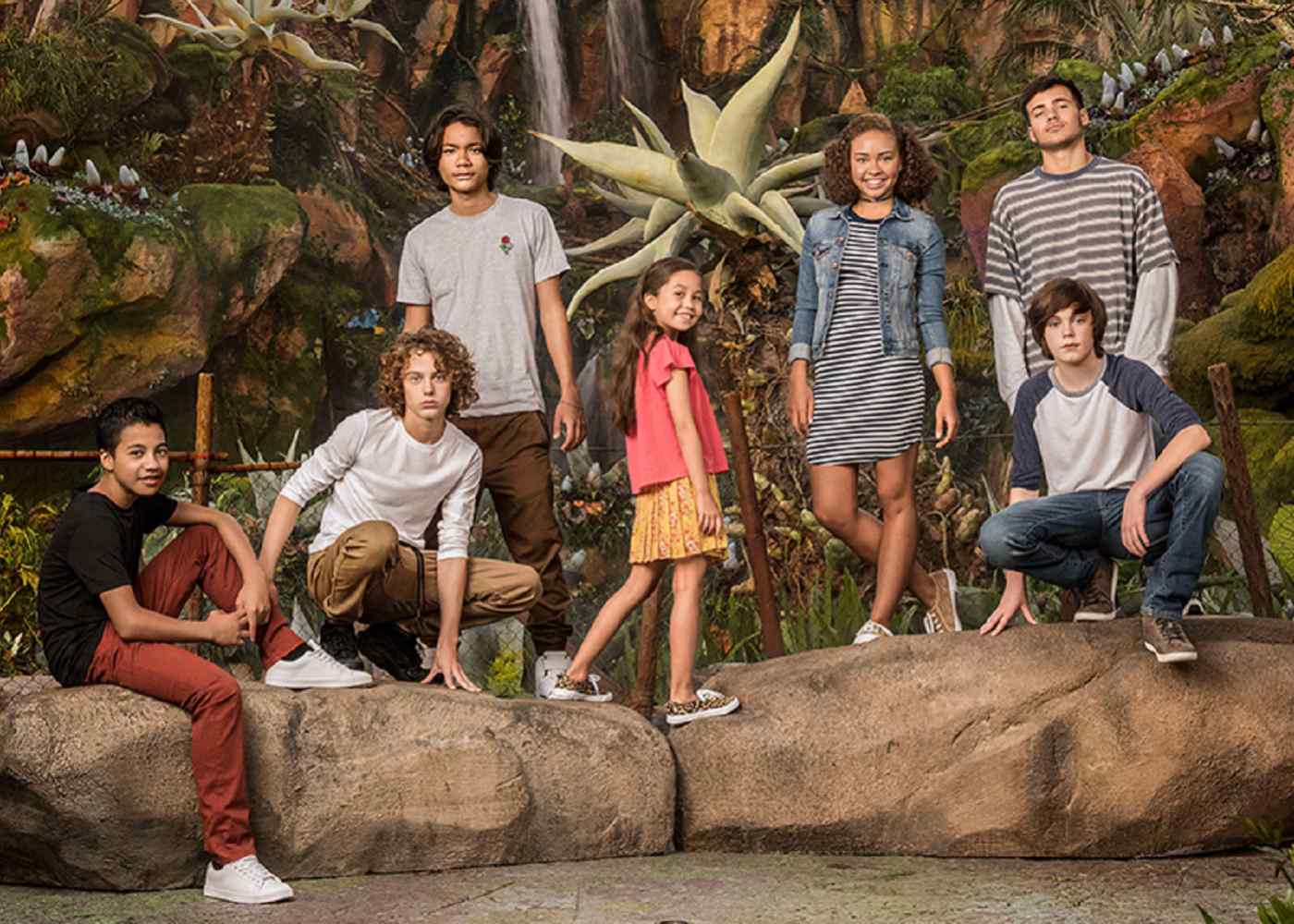 Meet the New Avatar Kids in Cast Photo