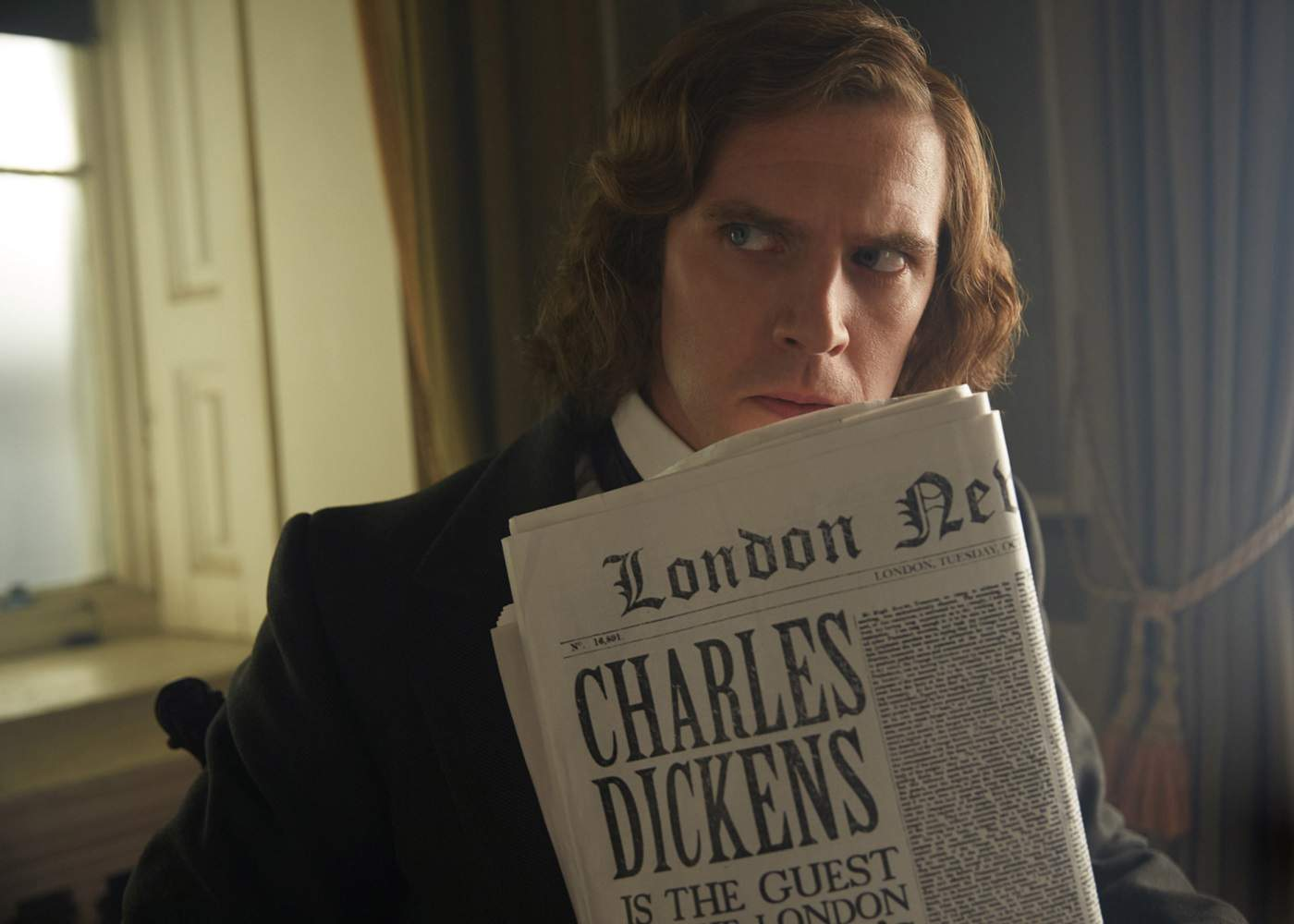 Dickens Summons Spirits in The Man Who Invented Christmas