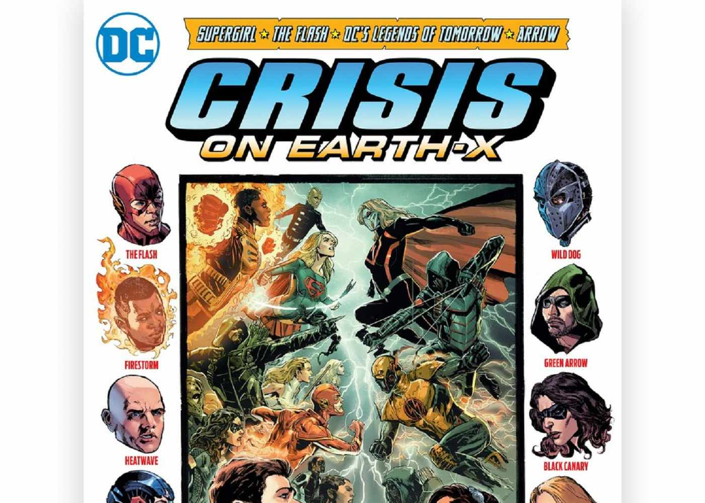 Crisis on Earth-X: Annual CW Crossover Revealed