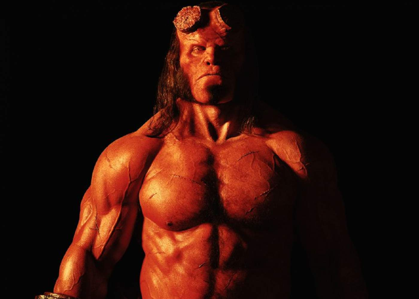 Hellboy Makeup and New Cast Member Revealed
