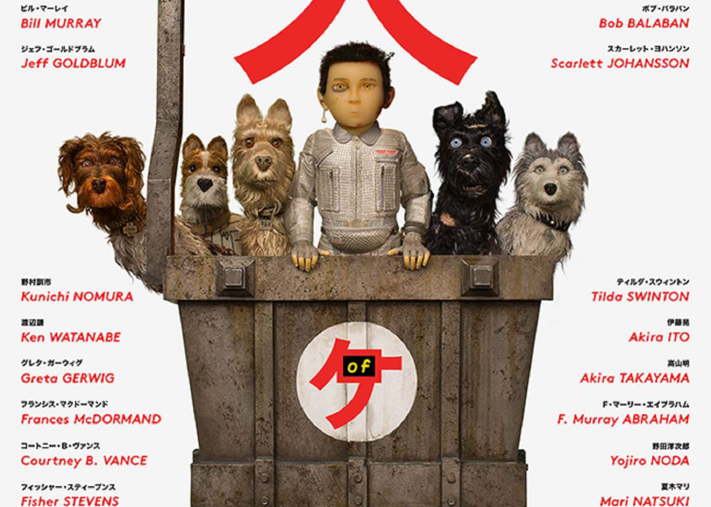 Wes Anderson is Animated Again in Isle of Dogs Trailer