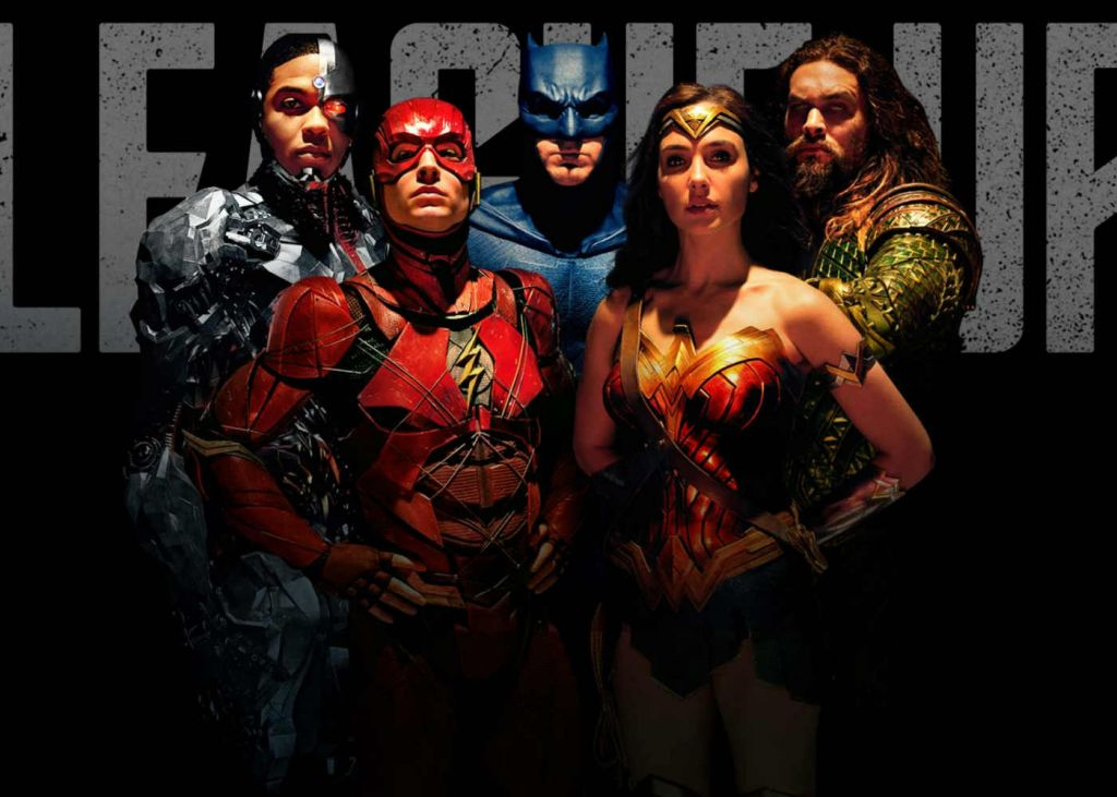 Justice League Promo Poster, promos