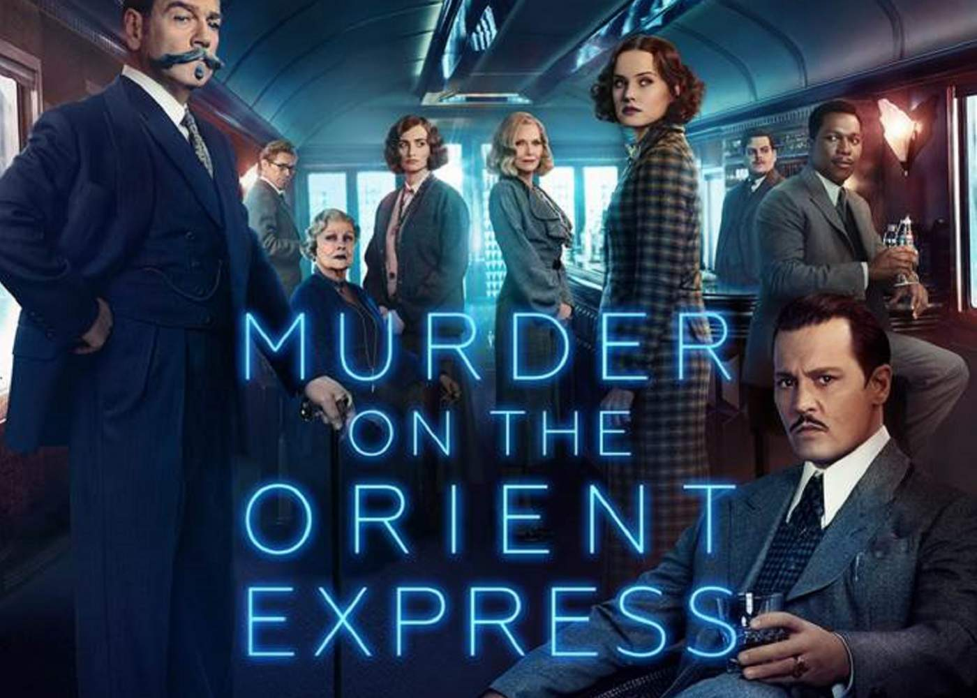 Murder on the Orient Express Posters Gather the Suspects