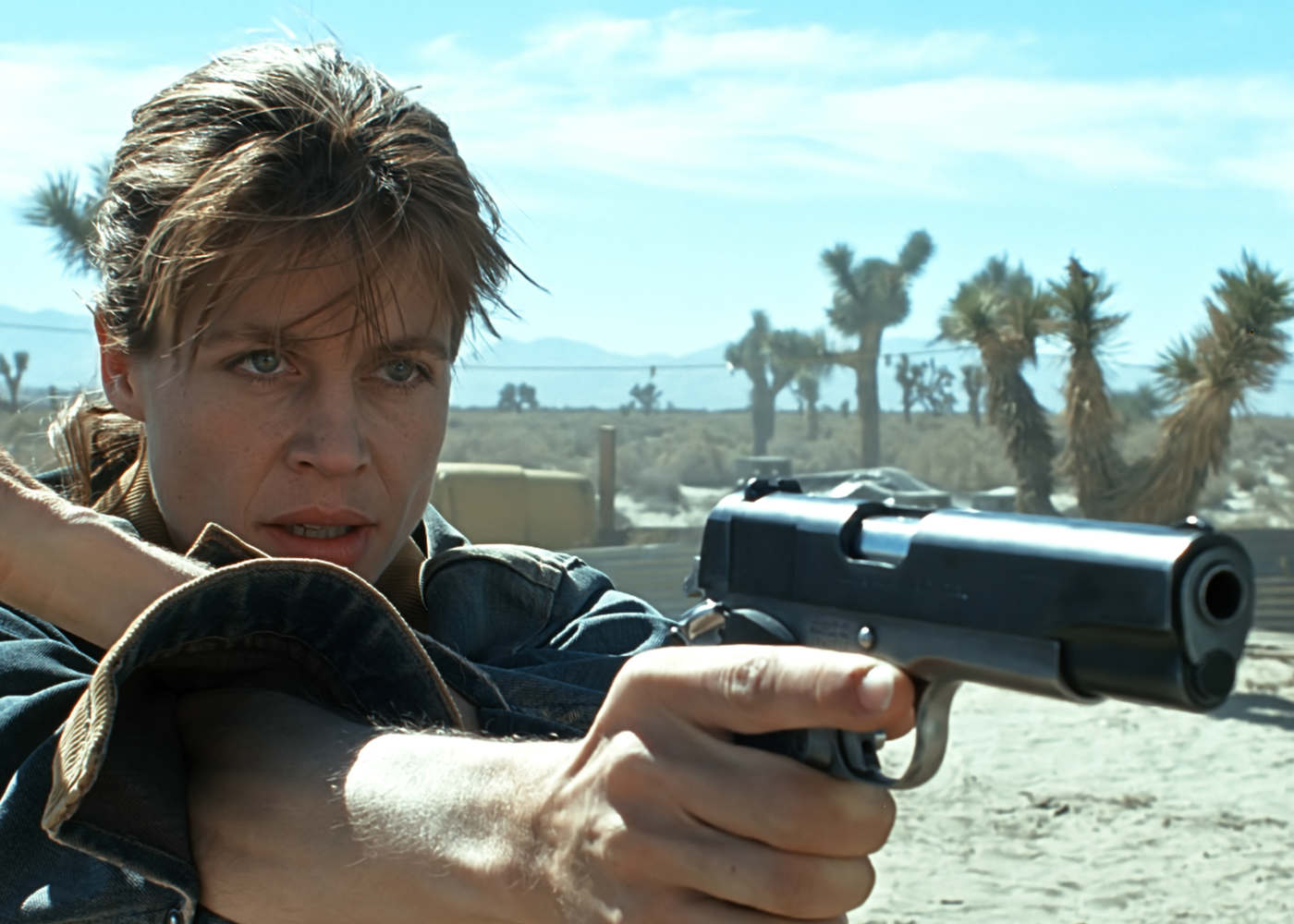 Sarah Connor Will Dust Off the Muscle Vest in 2019 as Terminator Sequel Gets a Release Date