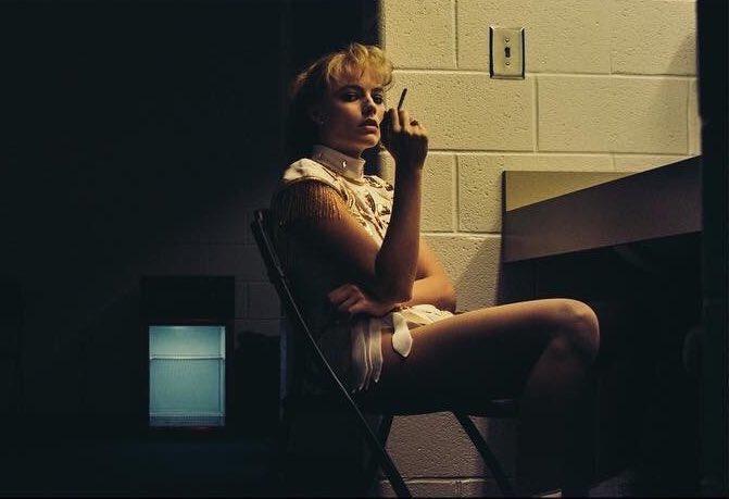 Robbie as Tonya Harding