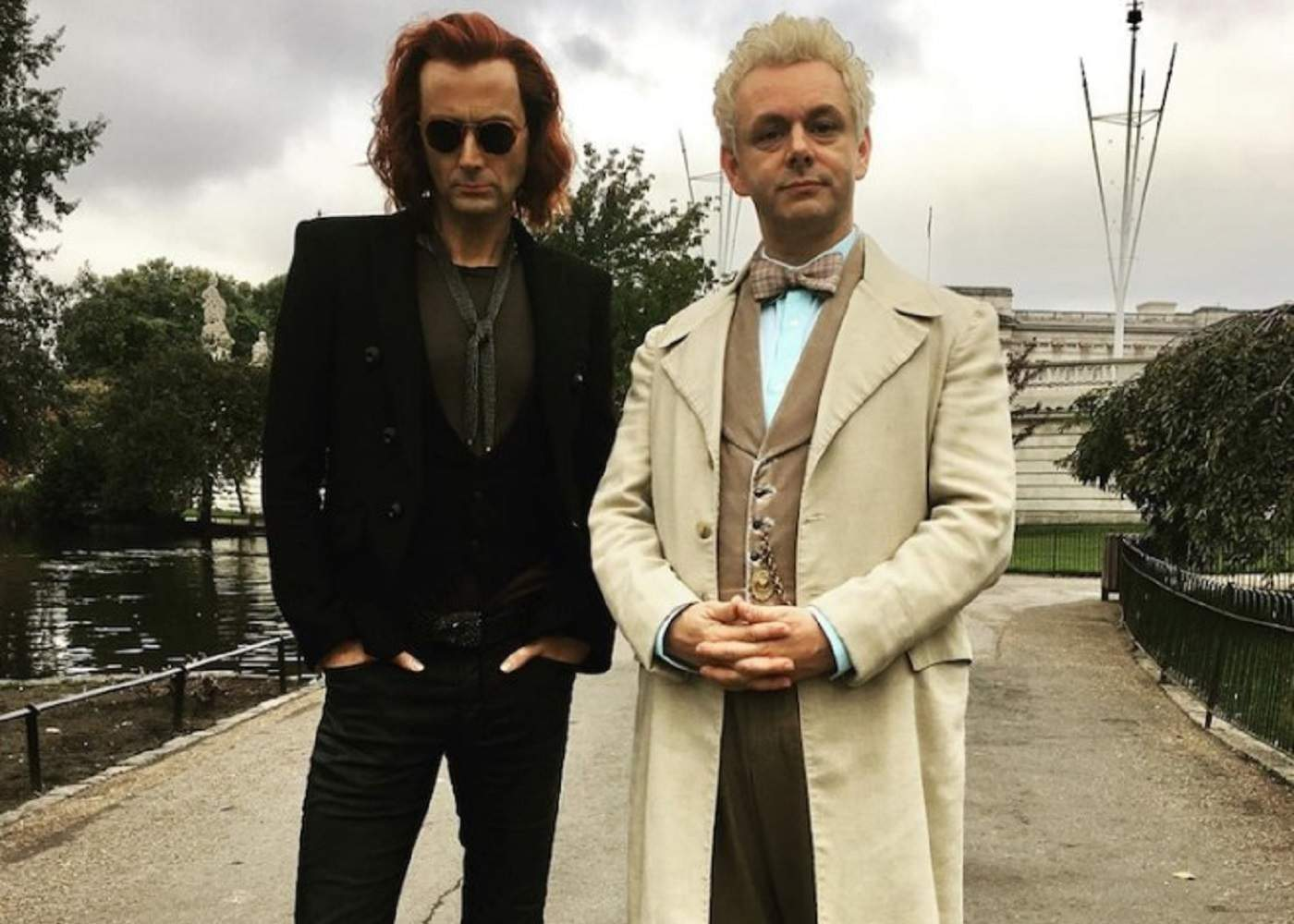 Meet Crowley and Aziraphale in Good Omens