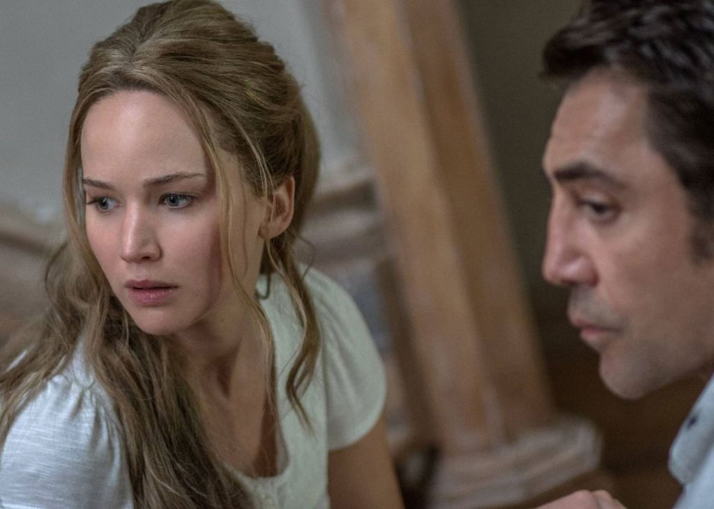 mother!, jennifer lawrence, javier bardem