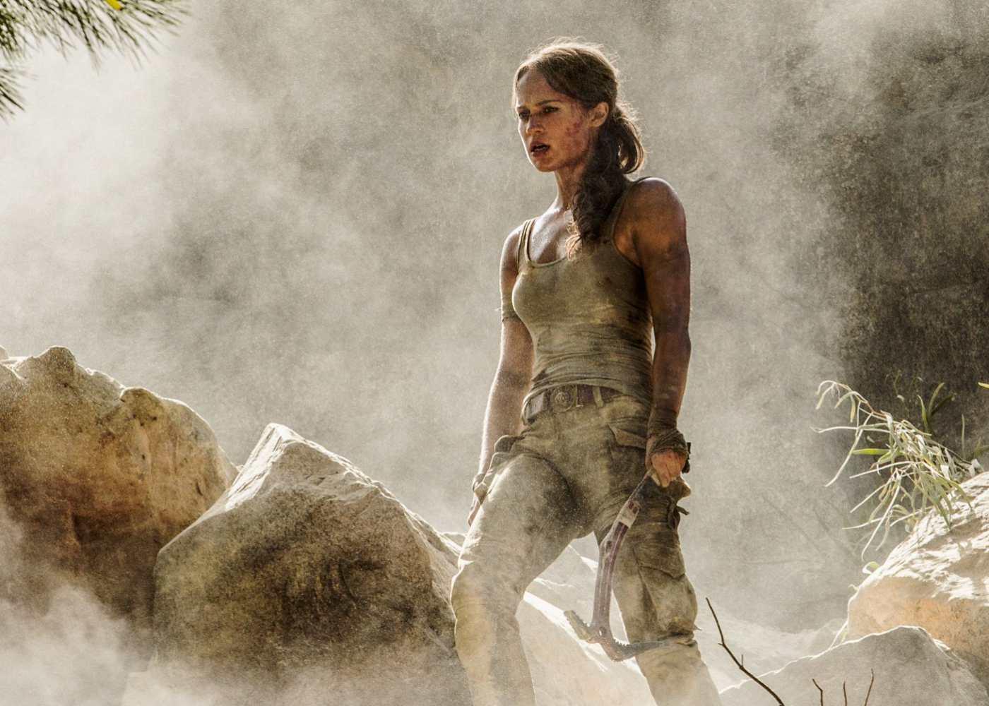 Alicia Vikander Defies Death in New Tomb Raider Trailer