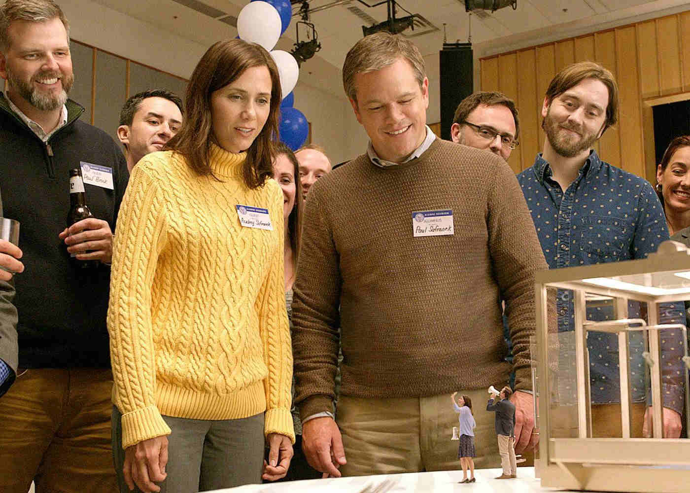 LFF 2017: 'Downsizing' Finds a Small Damon Tackling Big Issues