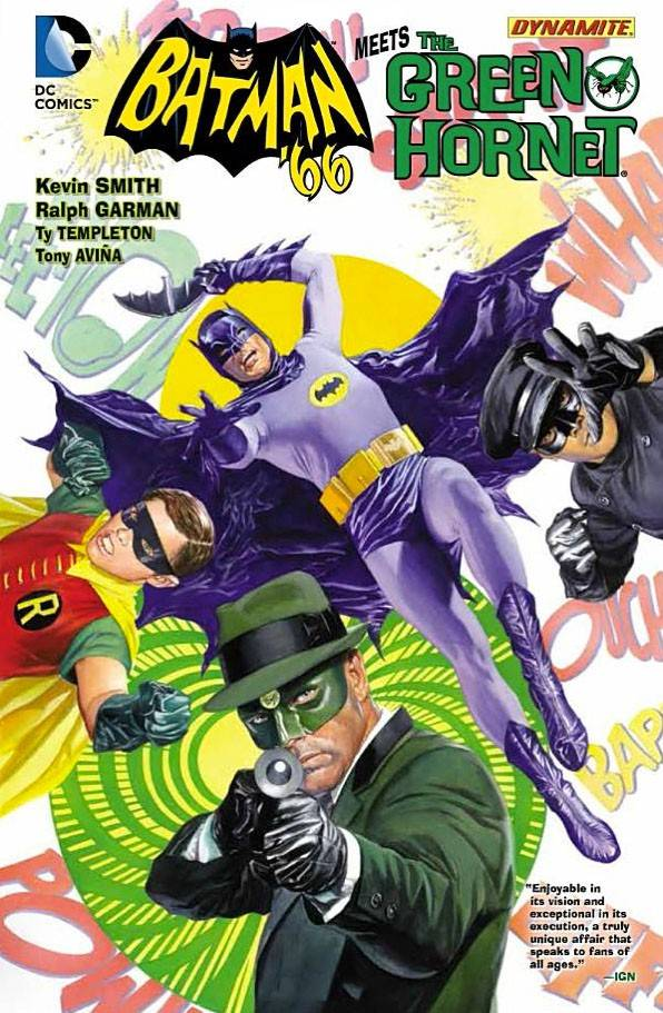 batman, green hornet, ralph garman, kevin smith