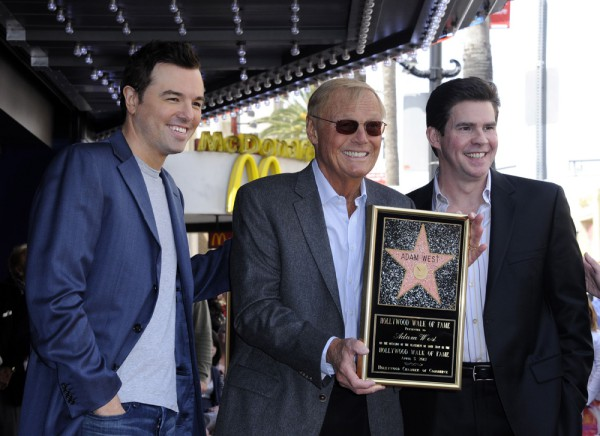 Seth MacFarlane, Adam West, Ralph Garman