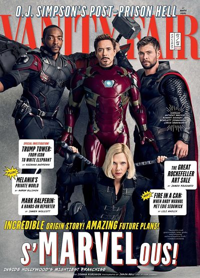Vanity Fair Marvel Cover