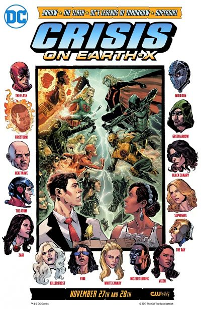 The CW Crossover Event Crisis on Earth X Details Revealed