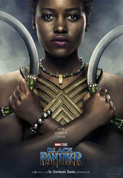 LUPITA NYONG'O AS NAKIA - Black Panther