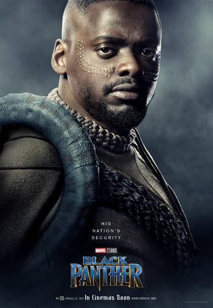 DANIEL KALUUYA AS W'KABI- Black Panther