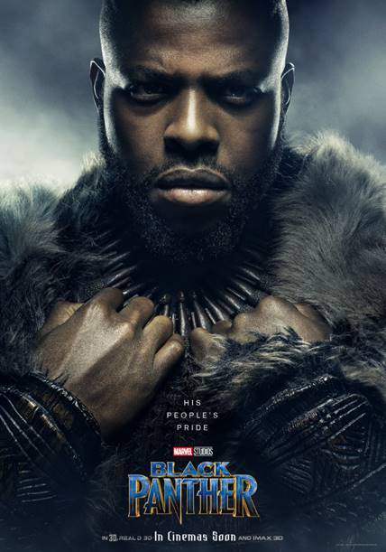 WINSTON DUKE AS M'BAKU- Black Panther