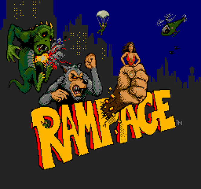 High Hopes For Rampage Film Starring The Rock
