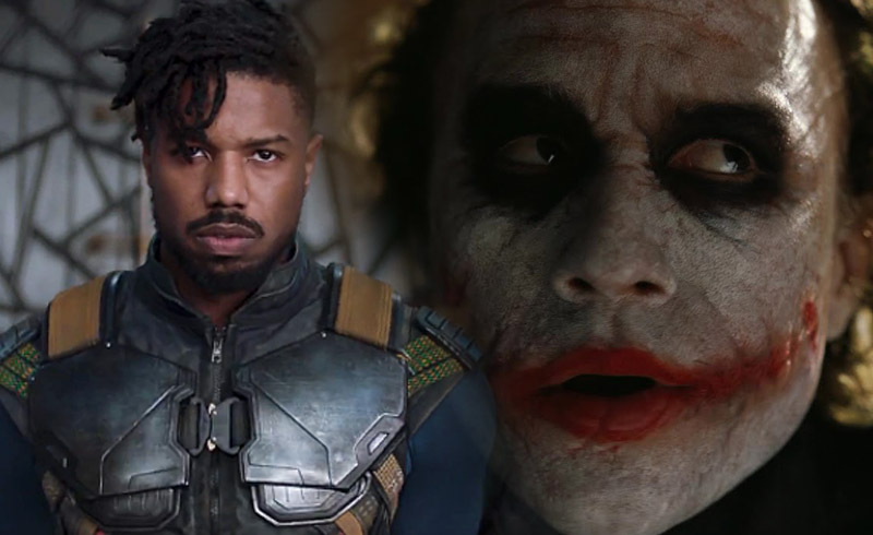 Black Panther's Killmonger Was Inspired By Heath Ledger's Joker