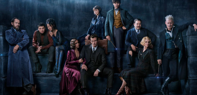 Fantastic Beasts 2: A Look A Jude Law As A Young Dumbledore