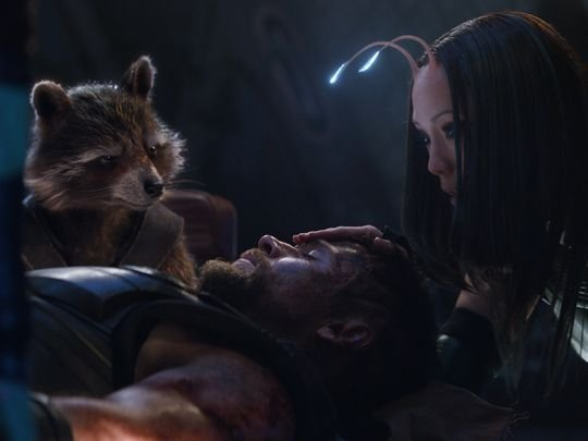 Thor Meets Rocket And Mantis In The Latest Infinity War Photo