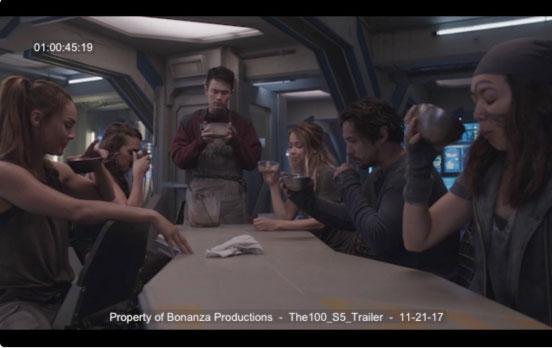 Set Photos From The 100 Season 5