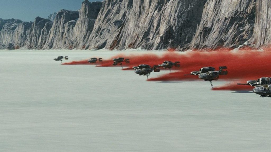 The Last Jedi Battle On Crait