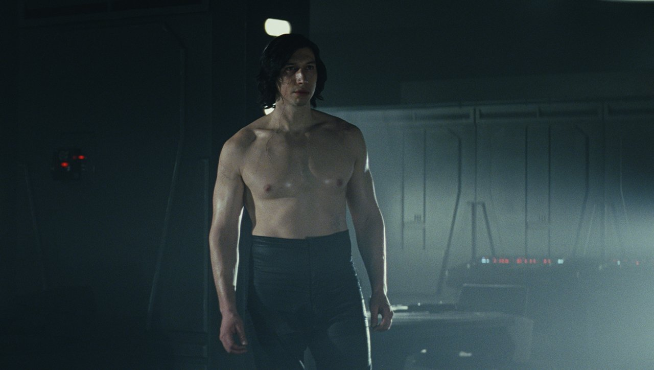 Star Wars The Last Jedi: Hi-Res Image Of Shirtless Kylo Ren Released Online