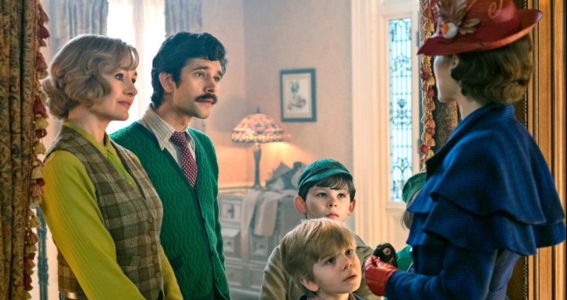 A New Look At Disney's Upcoming Mary Poppins Returns