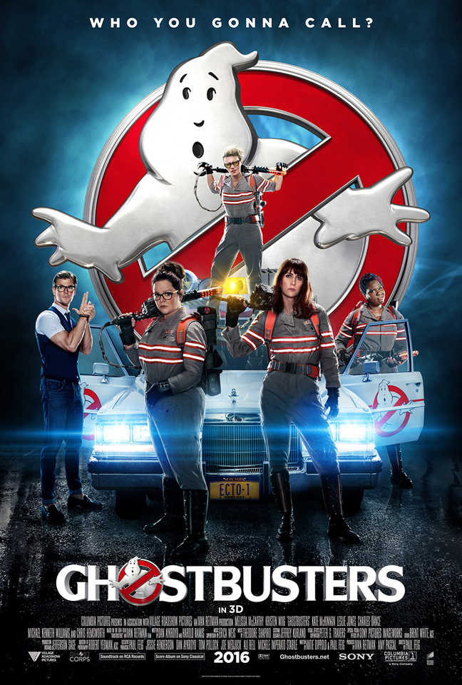 Cartel Internacional Para Ghostbusters