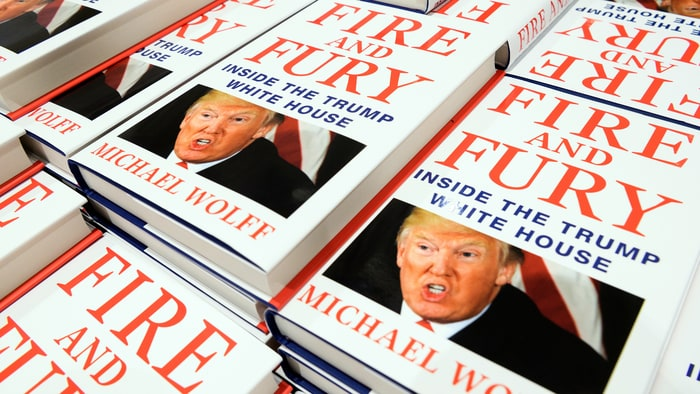 That Trump Book 'Fire and Fury'  Is Going To Become A TV Show