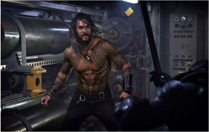Aquaman: Descriptions of the Teaser Screened at CinemaCon
