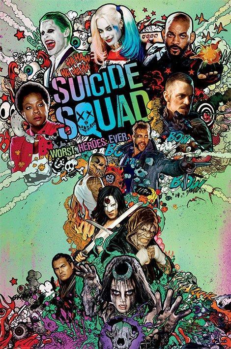 Nuevo Cartel De 'Suicide Squad'