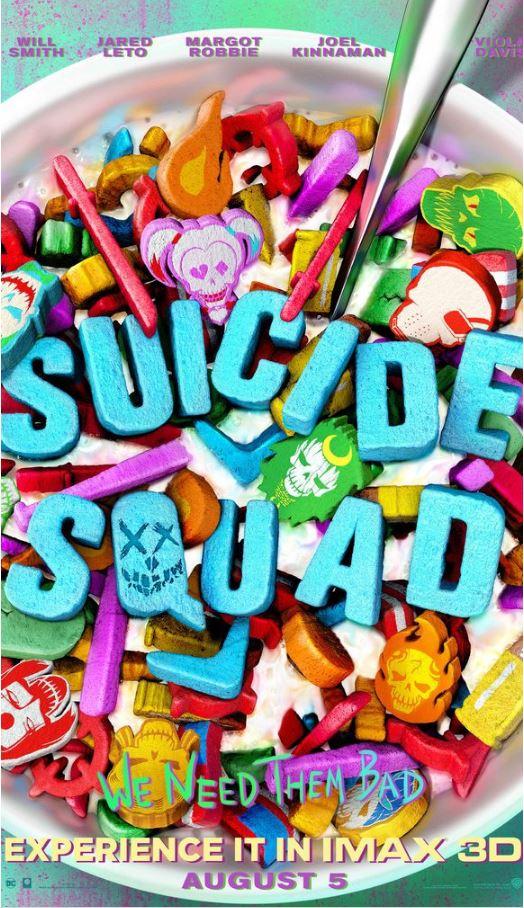 Nuevo Cartel IMAX Para 'Suicide Squad'