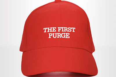 Poster For THE FIRST PURGE Wants To Make America Great Again
