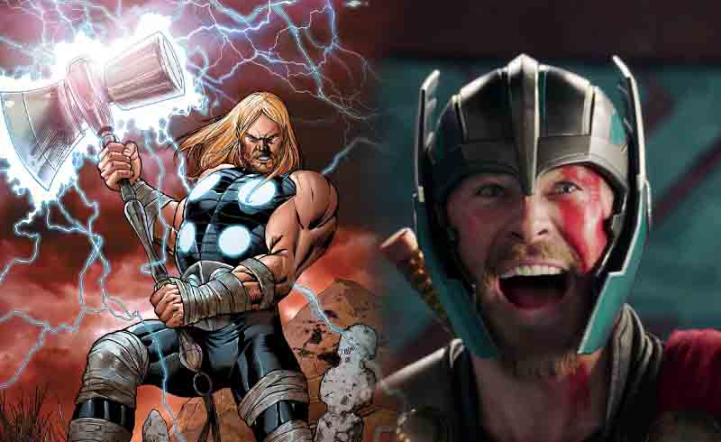 New Look at Thor's Hammer for Avengers: Infinity War