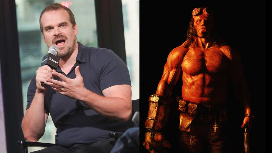 David Harbour Talks About Bagging the Role of Hellboy