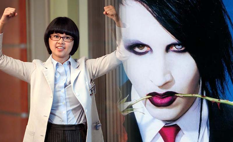 Steven Universe's Charlyne Yi Admits that Marilyn Manson Harassed 'every woman' on the Set of House