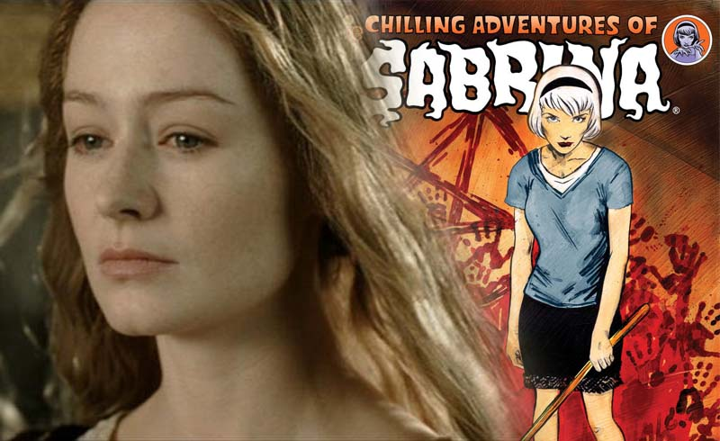 The Chilling Adventures of Sabrina: LOTR's Eowyn Cast as Aunt Zelda