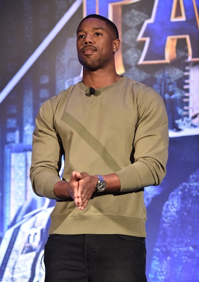 Michael B Jordan-Black Panther-Erik Killmonger