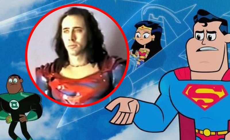 Nicolas Cage Finally Playing Superman… in Teen Titans GO! Movie