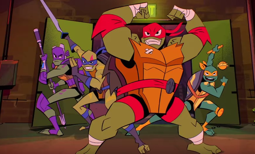 Nickelodeon's Rise of the Teenage Mutant Ninja Turtles Gets a Teaser