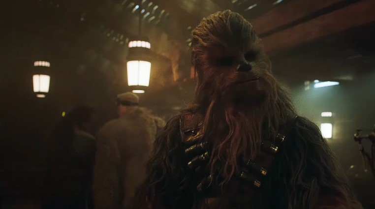 Chewbacca and Several Other Aliens Appear in Solo: A Star Wars Story's Denny's Tie-In Commercial