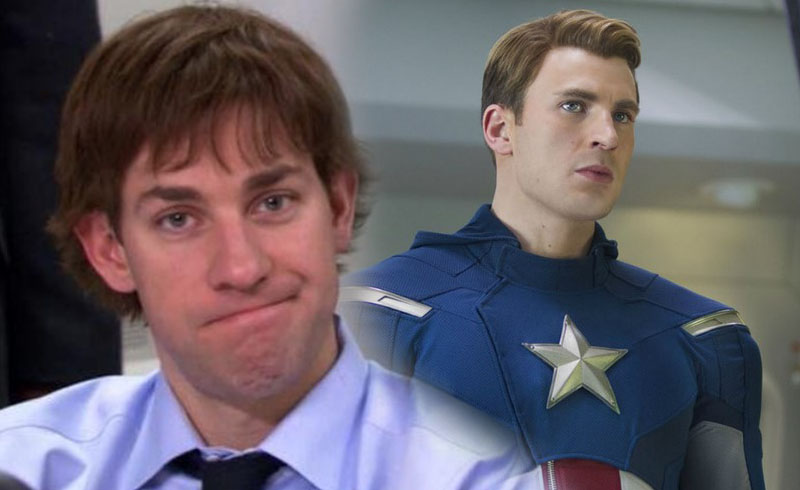 John Krasinski Talks About Losing the Captain America Role to Chris Evans
