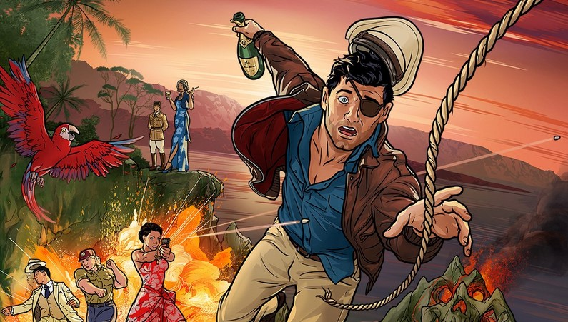 Watch First Trailer for Archer 9: Danger Island